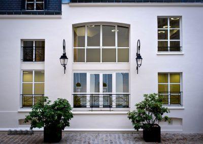Rehabilitation d'un ensemble d'hotels particuliers – Saint Fiacre