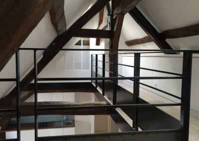 Restructuration des 2 derniers etages – SHPF