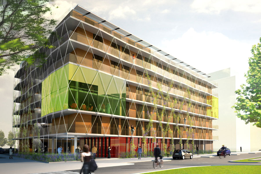 159 logements – foyer universitaire –  Toulouse