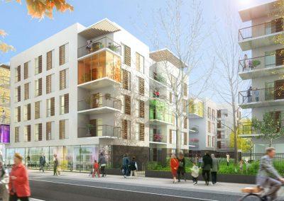 113 logements collectifs – Lyon-Gerland