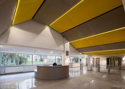 Hall d'accueil et espaces de reception d'un ensemble de bureaux – Watt & Orion