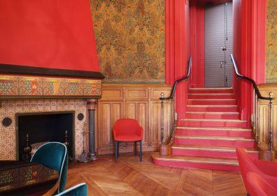 Restauration du bureau de la Presidente de l'Ordre des Avocats au Conseil d'Etat et a la cours de Cassation,  Palais de Justice de Paris