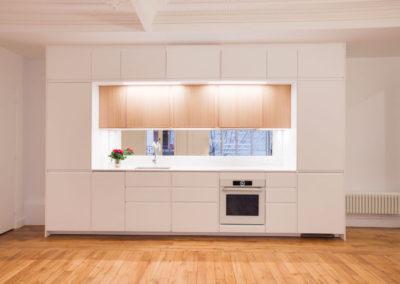 Restructuration complete d'un appartement